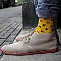 Gift Box Bamboo Socks Orange&Yellow image