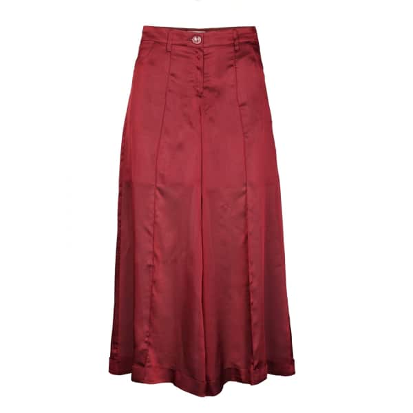 JIRI KALFAR 3/4 Silk Trousers