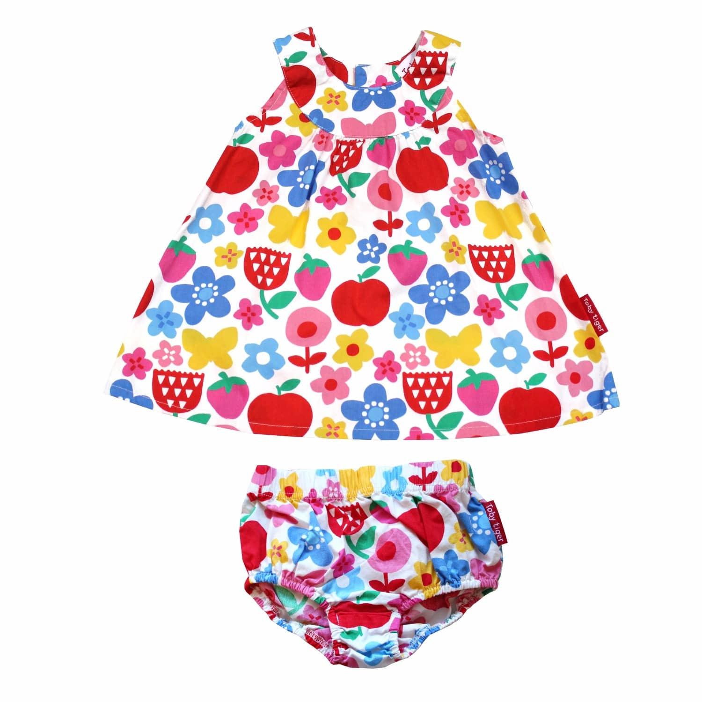 21863b13b30 Butterfly Flower Baby Dress image