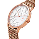 Opera Rose Gold Mesh Watch 40Mm image