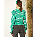 Sweetheart Sage Frill Blouse image