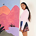 Stargazer Sweatshirt Baby Pink image