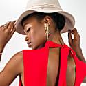 Ivory Felt Fedora Hat image