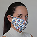 Pack Of 6 Reusable Protective Cloth Masks With Integrated Filter In Jungle Print image