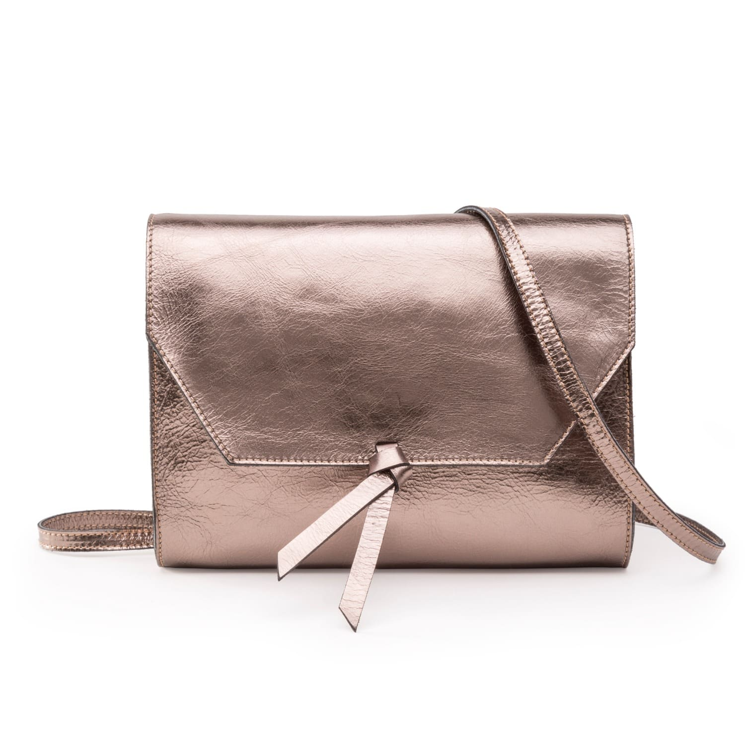 0f0197d90673 Mini Crossbody Clutch Bronze | Alexandra de Curtis | Wolf & Badger
