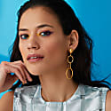 See'Est Chic Statement Chain Drop Earrings image