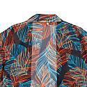 Leaf Design Kimono in Multicolor image