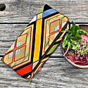 Stained Glass - Handmade Foldover Clutch Purse image