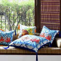 Pushkar Silk Cushion  image