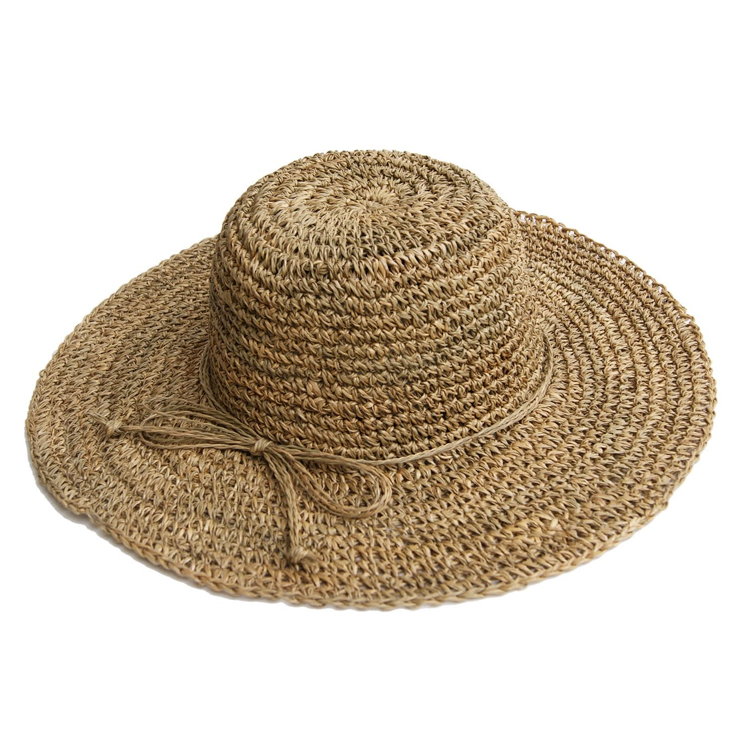 8e5e62ca3fffa Wide Brim Straw Hat | Justine Hats | Wolf & Badger