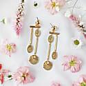 Reverie Gold Earrings image