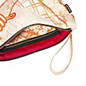 Clutch Bag with Handle – Gold Katana image