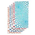 Bubbles Peshtemal Turquoise & White image