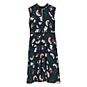 Sakura Print Knee Dress image