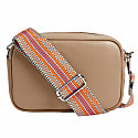 Crossbody Bag In Beige With Interchangeable Straps image
