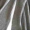 Cashmere Scarf Verbier Chain In Grey image