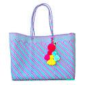 Lolita Recycled Plastic Beach Bag Amora image