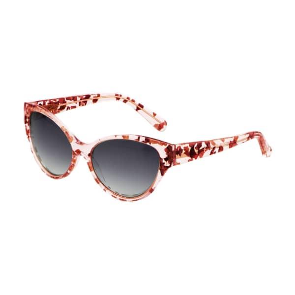 HEIDI LONDON Rose Petal Cateye Sunglasses