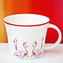 Flossy & Amber Flamingo Mug image