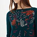 Emu Embroidered Jumper image