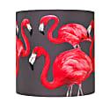 Flock Of Flamingos Lampshade Small image