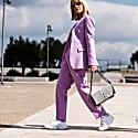 Jo Shoulder Bag Grey Suede image
