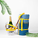 """""""Keep Your Cool"""" Champagne Bucket - Yellow Leather Strap image"""