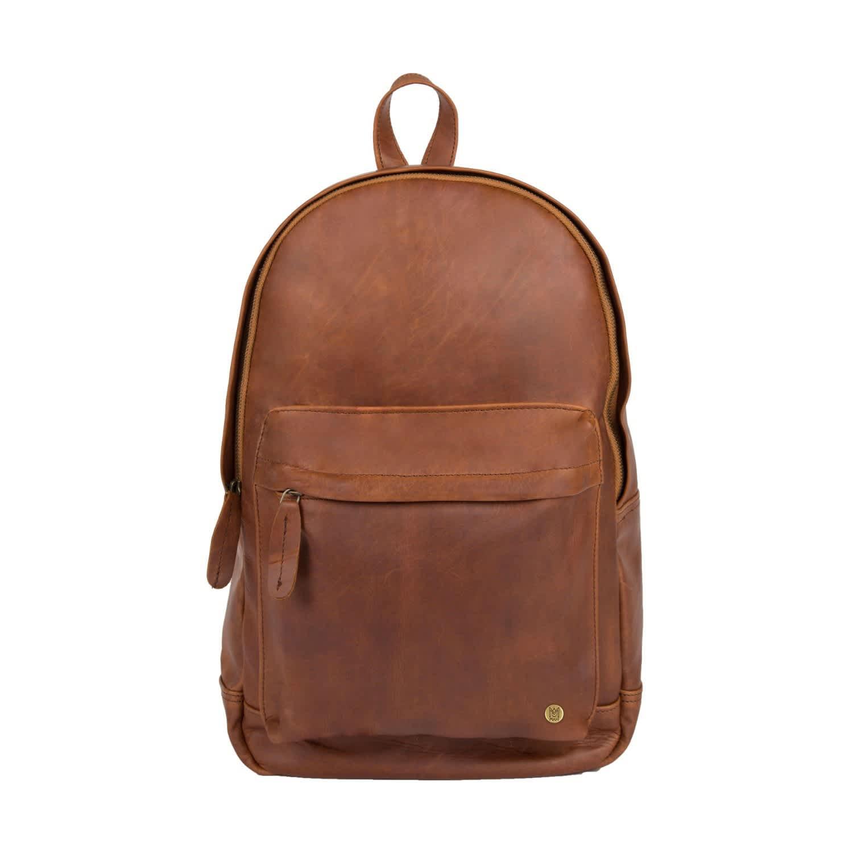 da193025b67f06 Leather Classic Backpack Rucksack In Vintage Brown | MAHI Leather ...