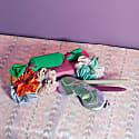 Zero Waste Eye Mask Lilac Foil Silk image