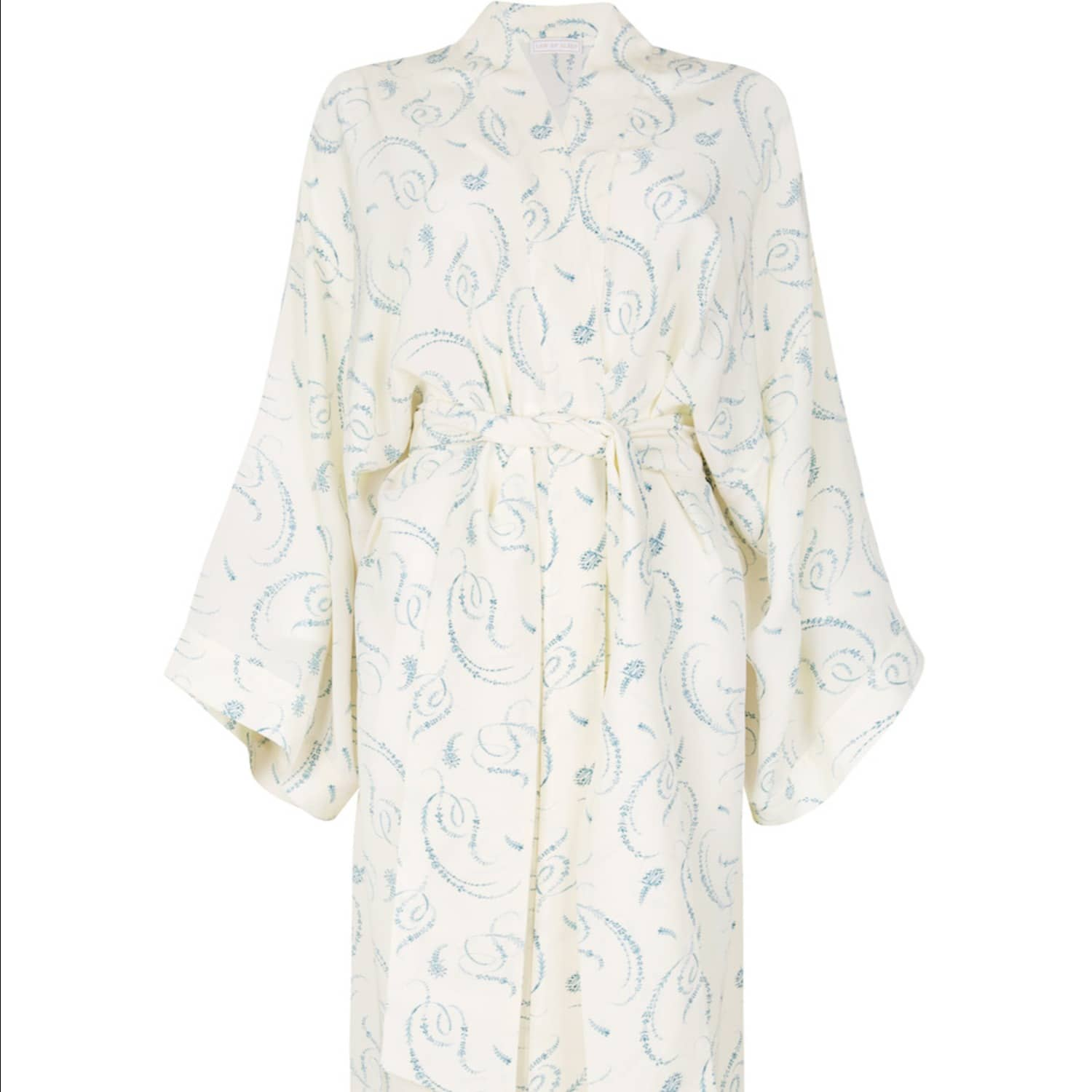 Victoire Silk Kimono Dressing Gown | Law of Sleep | Wolf & Badger