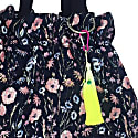 Patsy Yellow Dip Dyed Jeans Bag Tassel Clip image