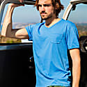 Mojito V-Neck T-Shirt in Blue image