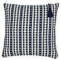 Lulu Navy Stripe Cushion image