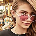 Astra Gold Hoop Earrings image