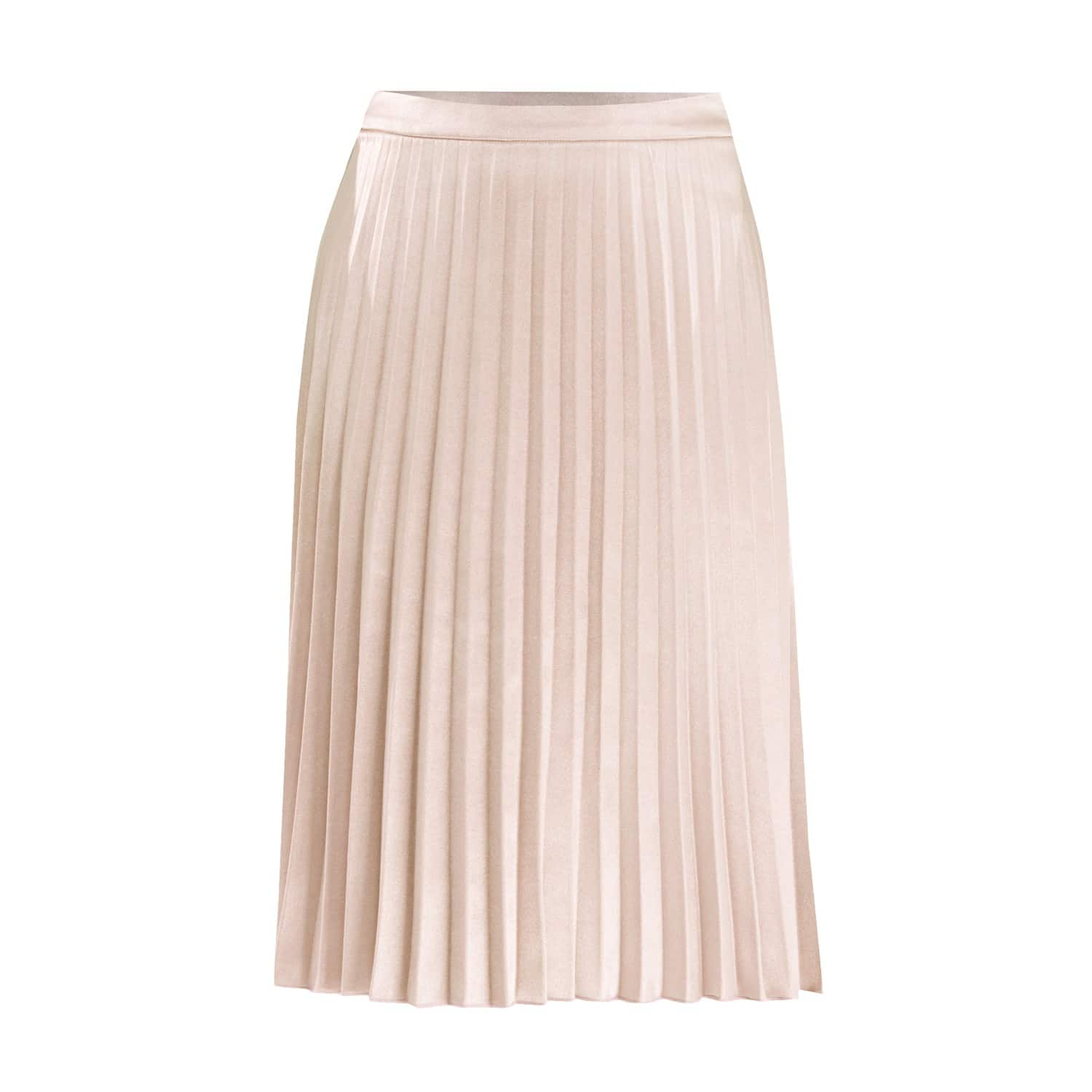 world-wide selection of price exceptional range of colors Pleated Skirt in Champagne by PAISIE