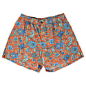 Quack Swim Short In Floral Canvas Coral image
