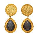 Sapphire King & Queen Earrings image