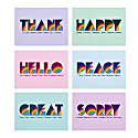 Five Letter Word Card - Set image
