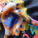 The Colours Of Love Silk Pocket Square image