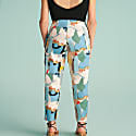 Printed Tapered Fit Pants image