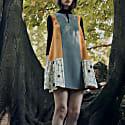 Reversible A-Line Mini Dress image