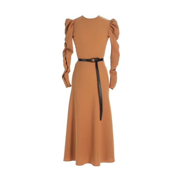 MUSÉE Crepe Midi Dress