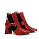 Color Blocked Ankle Bootie image