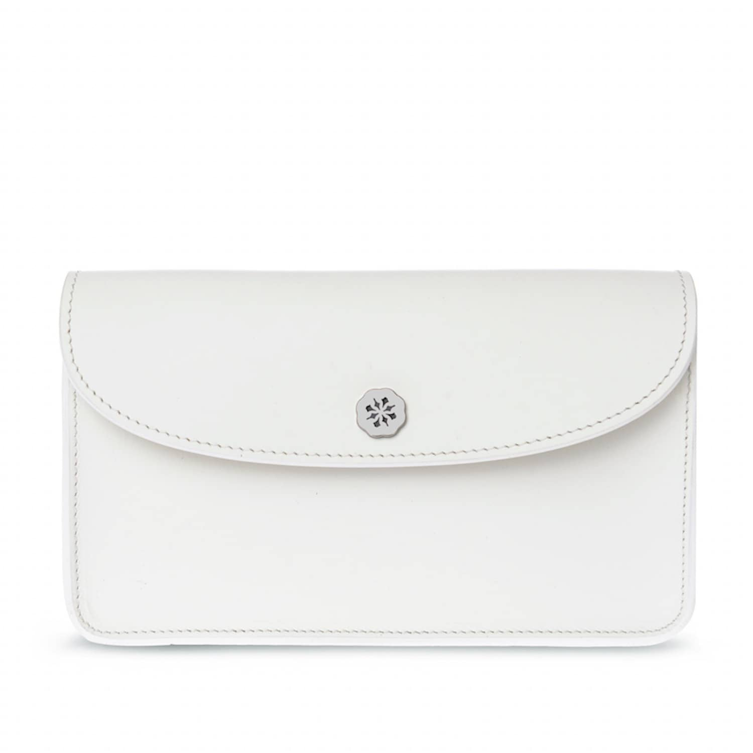22e393a19 Kate Leather Clutch Bag White | C.Nicol | Wolf & Badger