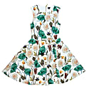 Floral Printed Party Dress image