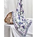 Silk Oblong Scarf - Lavender Gardens image