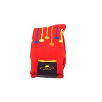 TYLER & TYLER Dropspot Red Socks