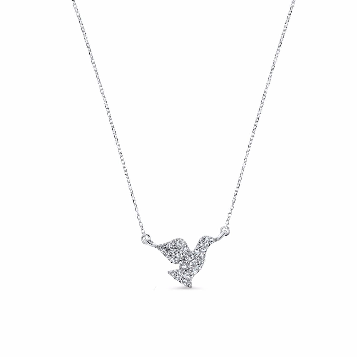 jewellery chain bonas silver pendant oliver dove necklace