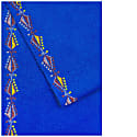 Hand Emboridered By Refugees Cashmere Scarf - Pine Tree Motif image