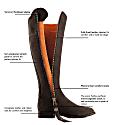 The Regina Chocolate - Suede Boot image